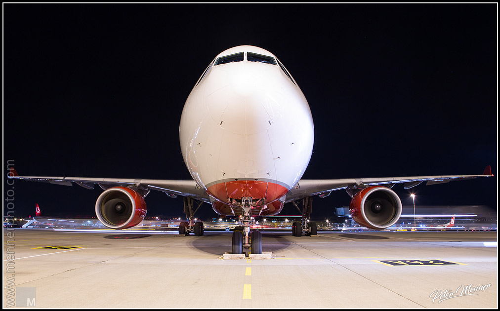 Face to face with an Airbus A330