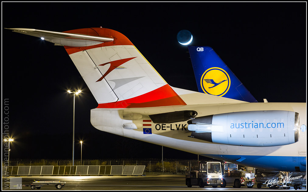 Austrian, Lufthansa and the moon