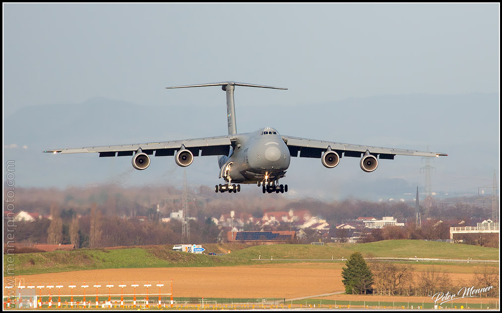 C-5 on final